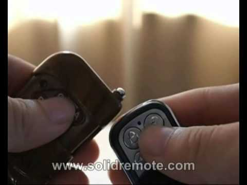 How to program SR-RCD-M1 remote control duplicator for garage door openers & gates