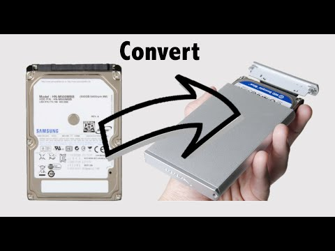 How to convert your old laptop Hard Drive to an USB External Storage