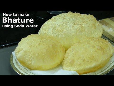 Bhatura recipe with soda water   सोडा वाटर से बने इन्स्टैंट भटूरे   Instant Bhature