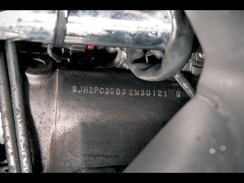 Easy Finding of the Chassis and Engine Number