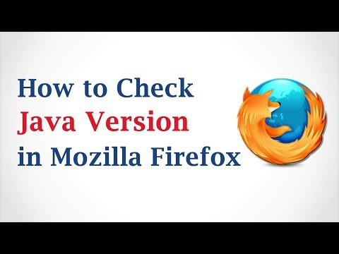 How to Check Java Version in Mozilla Firefox Browser