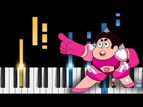 Steven Universe - Familiar - EASY Piano Tutorial