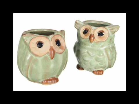 Owl Flower Pots -  Where to Buy