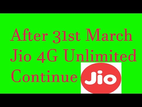 Jio Summer Offer Details || Free 3 Month Data after 31th March