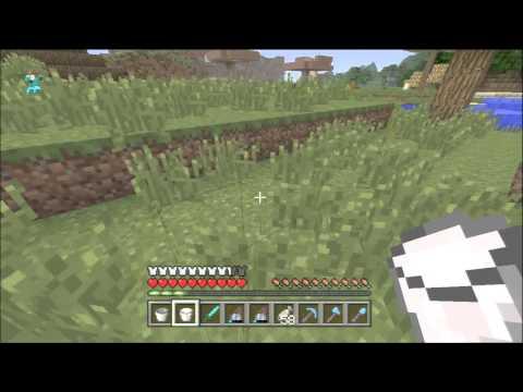 Minecraft Xbox 360 - Bucket Of Milk - Curing Poison Tutorial
