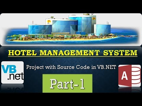 VB.NET | Hotel Management System Project | MS Access DB | #CODERBABA | part-1