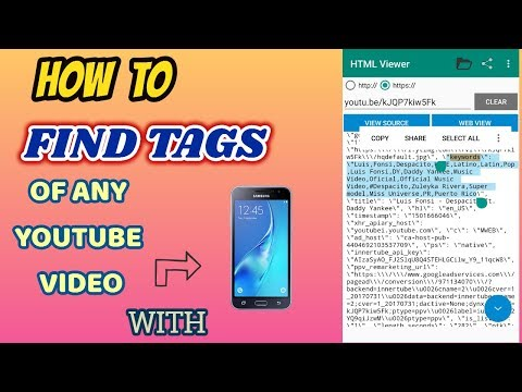 How to find tags of Any Youtube Video   Happy Yadav  