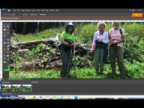 How to Add a Person to a Photo with Photoshop Elements