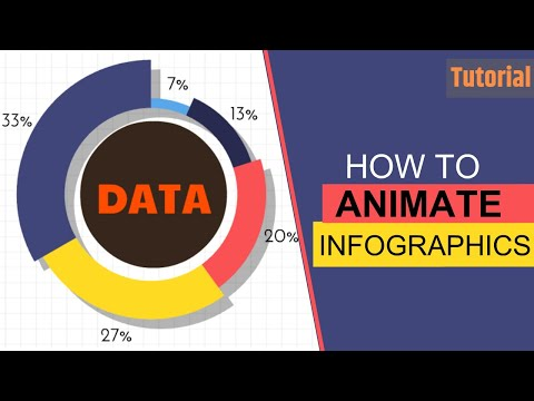 How to Make Animated infographics - Animaker tutorial