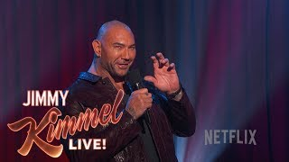 EXCLUSIVE TRAILER: Dave Bautista's Netflix Comedy Special
