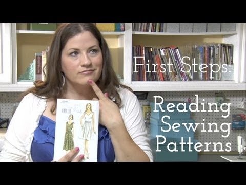 First Steps: Reading Sewing Patterns
