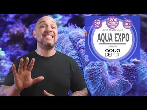 WILL YOU BE THERE? Aqua Expo 2018