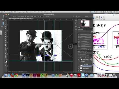 Week 07/01 - Creating a WEBSITE in Adobe Dreamweaver (Charlie Chaplin)
