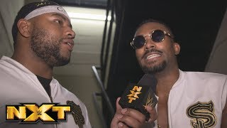 Street Profits celebrate their win in the Dusty Rhodes Classic: NXT Exclusive, March 14, 2018