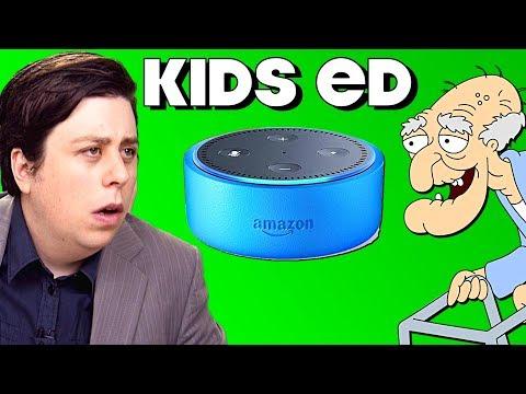 Amazon Echo Dot Kids - PARODY