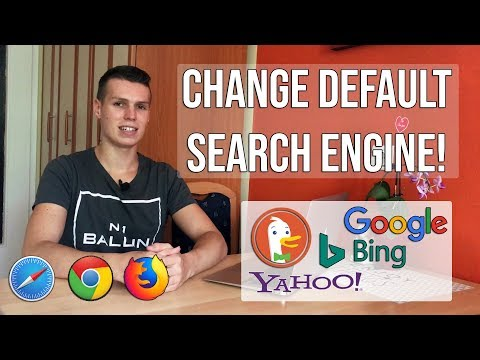 HOW TO CHANGE DEFAULT SEARCH ENGINE ON ANY IOS DEVICE!