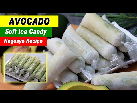 Avocado Ice Candy Recipe by Filipino Recipes Portal