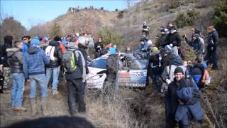 Rally Montecarlo 2015 - Crash Ott Tanak - Incredible back on the road