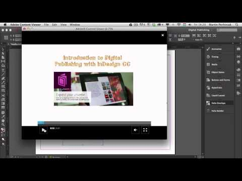 Digital Publishing With InDesign CC: Video Files