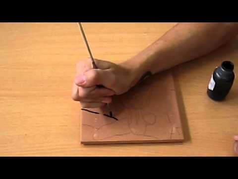 How to Paint a Ceramic Tile