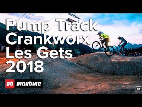 Official Highlights: RockShox Les Gets Pump Track Challenge - Crankworx Les Gets 2018