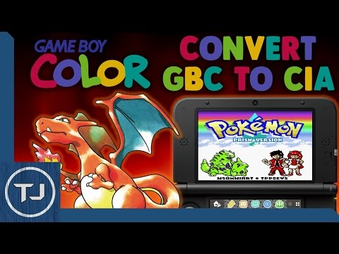 How To Convert GameBoy Color (GBC) Roms To CIA Files & Install Them!