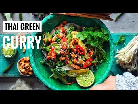 THAI GREEN CURRY NOODLE BOWL   Avant-Garde Vegan