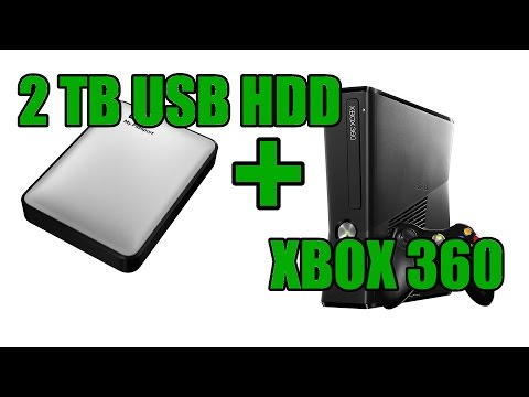 External 2TB USB HDD: XBox 360 How To