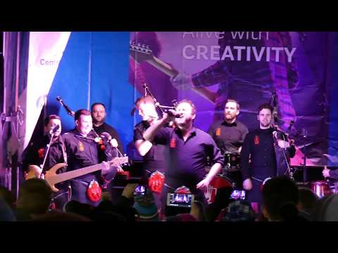 Red Hot Chilli Pipers, Stirling, (part 2) 4K
