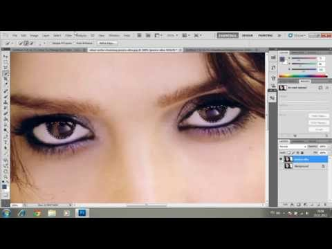 How to Change Eye Color - Tutorial Photoshop CS5 (HD)
