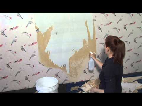 How to Remove Nonstripable Wallpaper