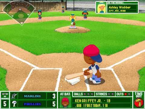 Let's Play Backyard Baseball 2003 - Game 6: Florida Marlins v. Philadelphia Phillies Part 3