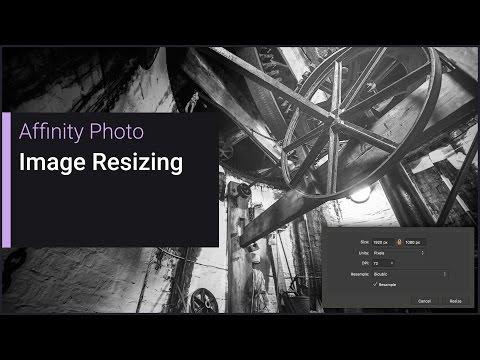 Document/Image Resizing (Affinity Photo)