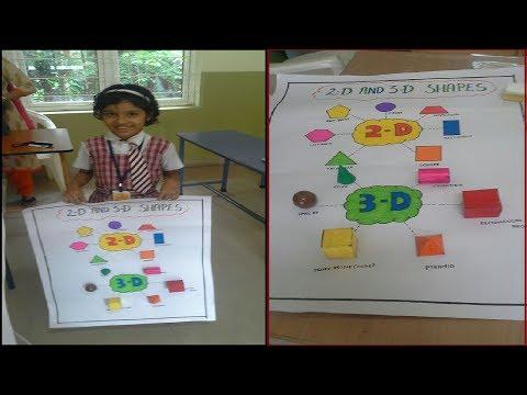 Geometrical Charts(3D Model) | Simple Maths Model