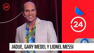 La imperdible imitación a Jadue, Gary Medel y Lionel Messi por parte de Kramer | 24 Horas TVN Chile