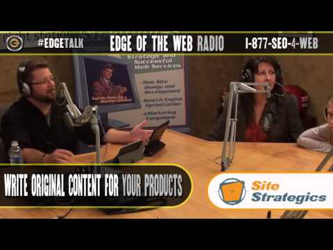 Fixing Duplicate Content Issues on an Ecommerce Website | Edge of the Web Radio SEO Podcast