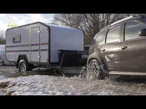 Anvir campers Via Lander - offroad camper trailer made in Russia