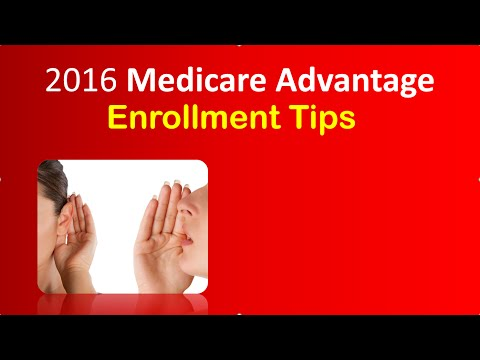 How To Compare 2016 Medicare Advantage Plans