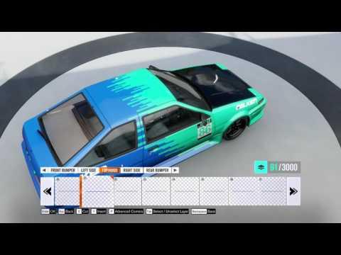 Forza Horizon 3 Speed Painting (AE 86) ツ