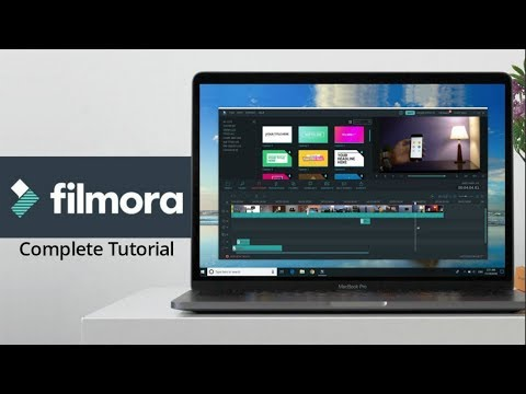 How to Edit Video with Filmora - Tutorial for Beginners