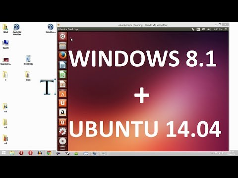 [How to] Install UBUNTU 14.04 in Windows 8.1/8/7/xp