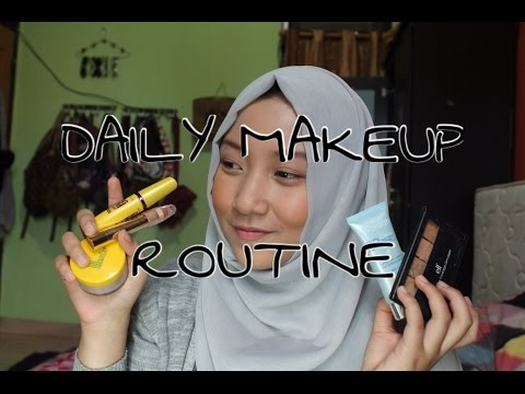 DAILY MAKEUP ROUTINE ( DRUGSTORE )