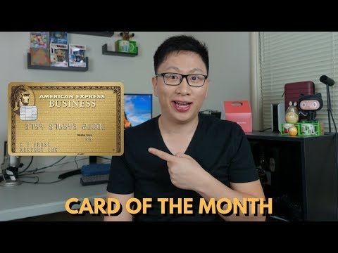 Card of the Month: Amex Business Gold Rewards ($1,500 G Suite Credit)