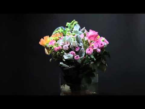 35 stem arrangement lavender with 6