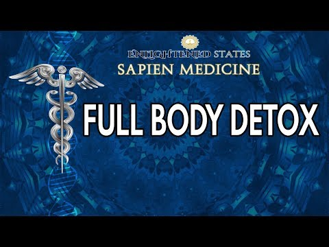 FULL BODY DETOX : Cleanse Liver, Lungs, Lypmh and Intestines ( Energy Healing Frequency )