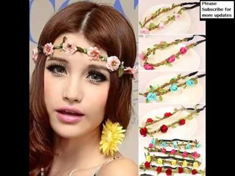 Flower Hair Band Picture Collection And Ideas Romance