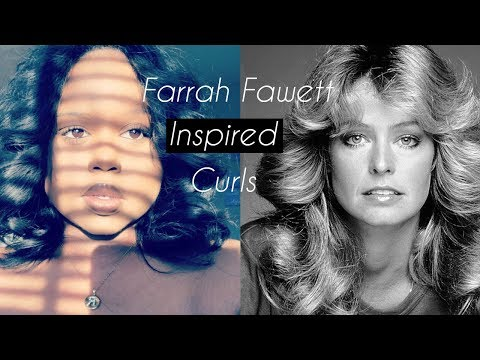 Farrah Fawcett Inspired Curls