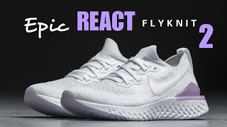 4619d6ab1d2b0c NIKE EPIC REACT FLYKNIT 2 FOR WOMEN  UNBOXING + CLOSER LOOK  epicreact  nike