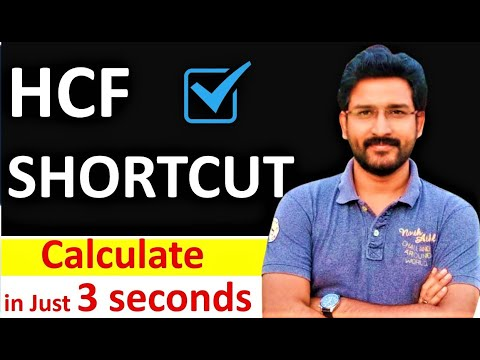 Shortcut Method to find HCF - Maths Tricks - By VipraMinds