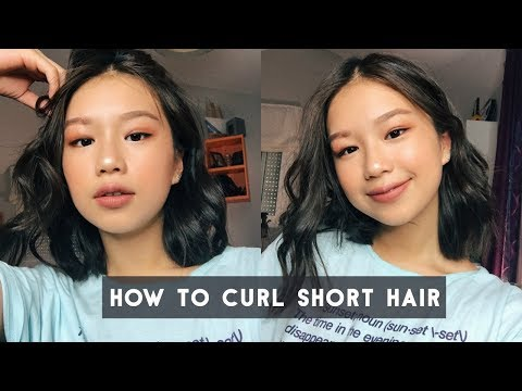 HOW TO CURL SHORT HAIR | Effortless Curls